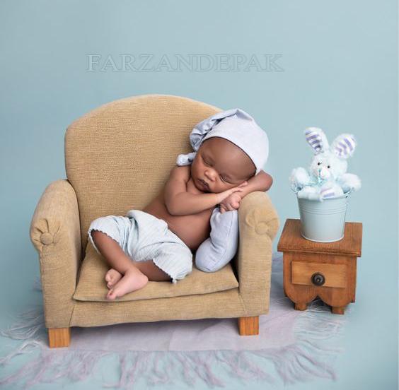 عکاسی از نوزاد در آتلیه فرزند پاک