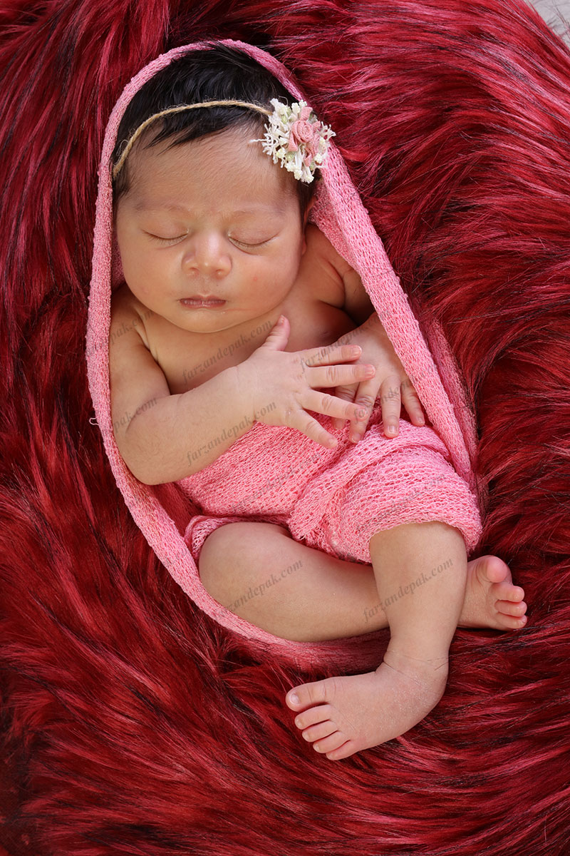 آموزش نورپردازی عکاسی نوزاد