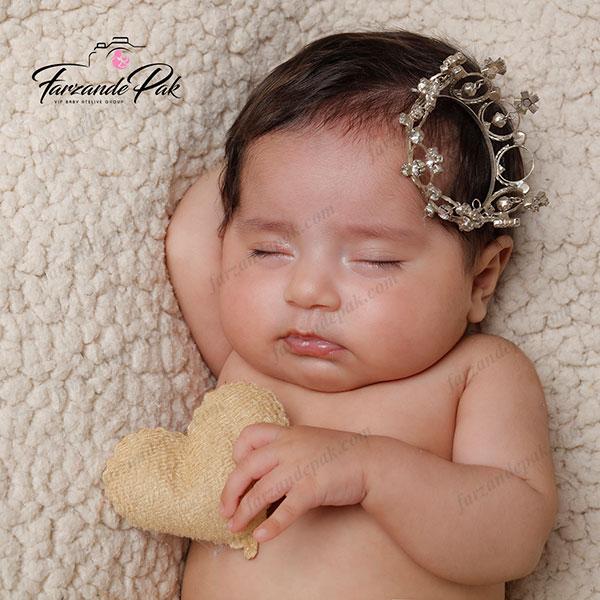 ایده عکاسی نوزاد دختر