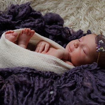 آموزش عکاسی نوزاد در منزل