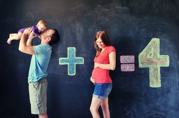 ایده های خلاقانه عکس بارداری