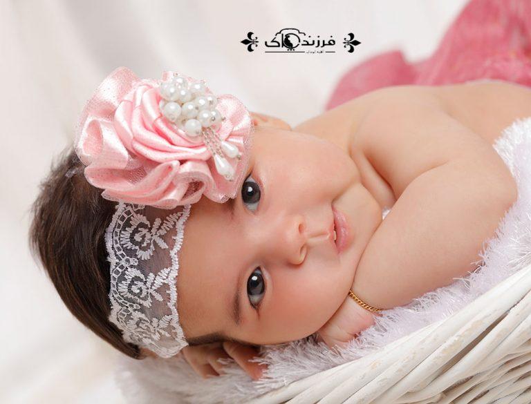 گالری عکس کودک دختر دو تا شش ماه (سری سوم)