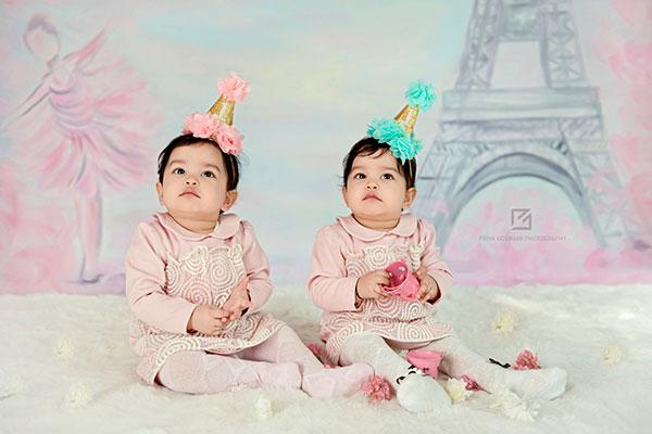 عکاسی از کودک دوقلو