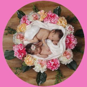 عکاسی نوزاد دختر