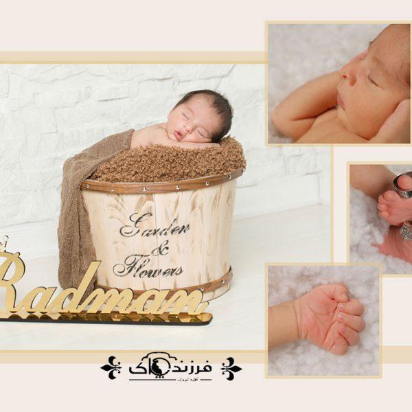 گالری عکس اعضای بدن نوزاد