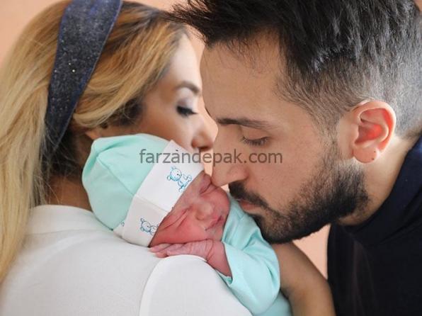 کلیپ عکاسی نوزاد و والدین