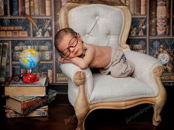 عکس نوزاد دختر و پسر 2 ماهه