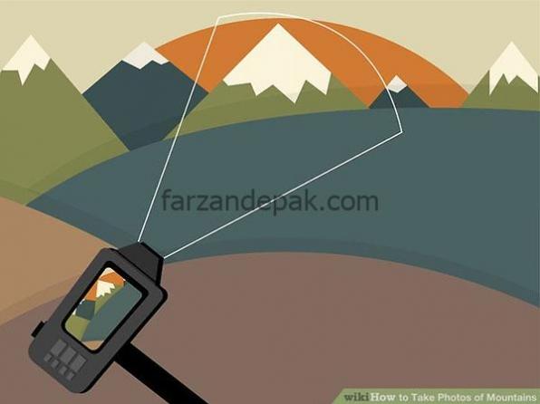 روش عکاسی از کوه ها – بخش سوم