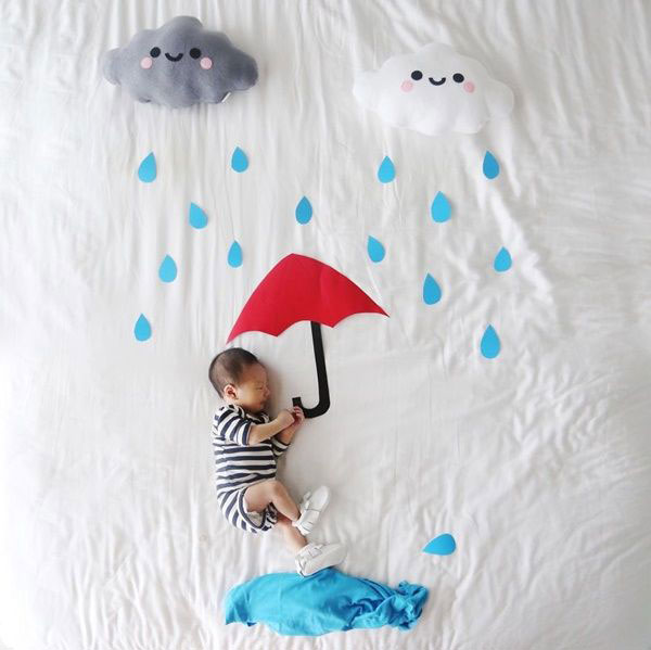 ایده عکس نوزاد