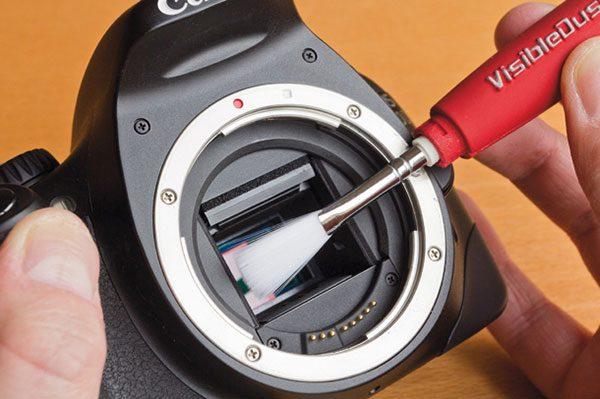 روش تمیز کردن سنسور دوربین