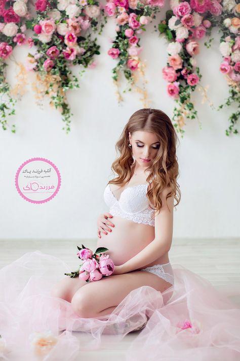 عکس مدل لباس مجلسی بارداری جدید