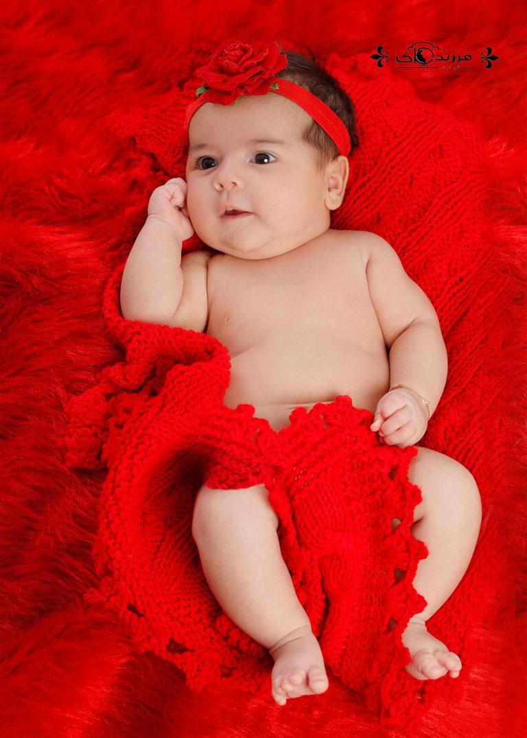 گالری عکس کودک دختر دو تا شش ماه (سری دوم)