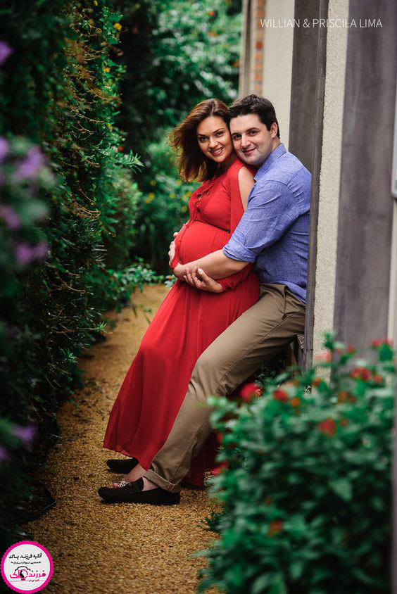 مدل عکس بارداری