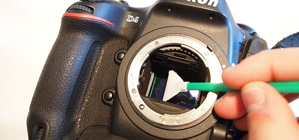 تمیز کردن سنسور دوربین