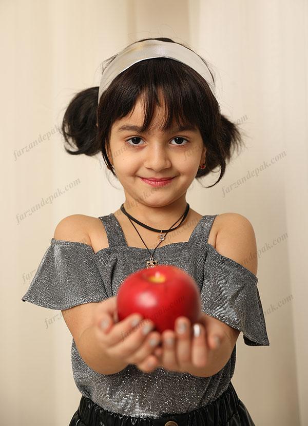 عکس آتلیه دختر بچه برای نوروز