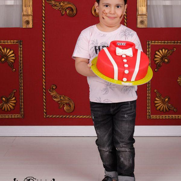 کیک تولد در آتلیه کودک