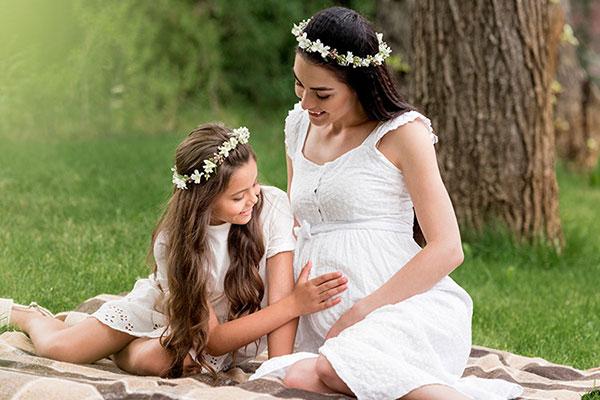 ایده های عکاسی دوران بارداری