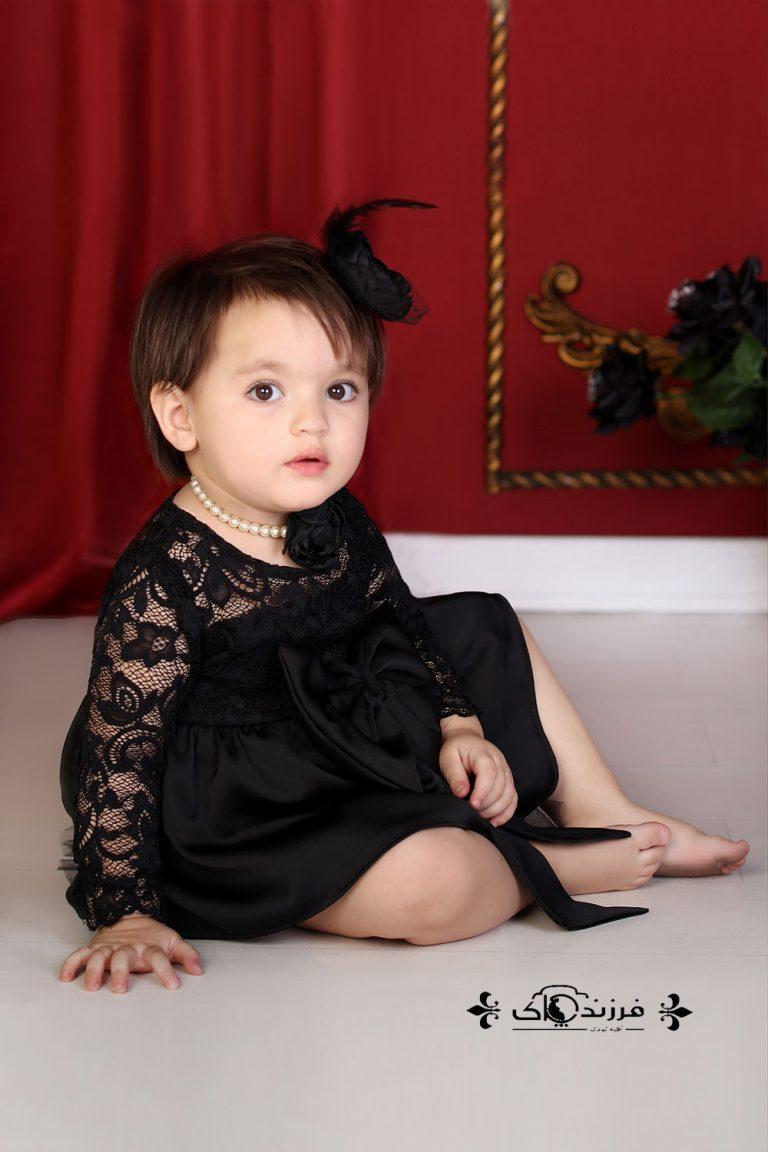 گالری عکس کودک دختر شش تا 12 ماه – سال 97