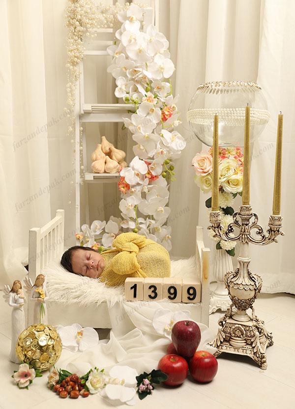 عکاسی نوزاد در نوروز