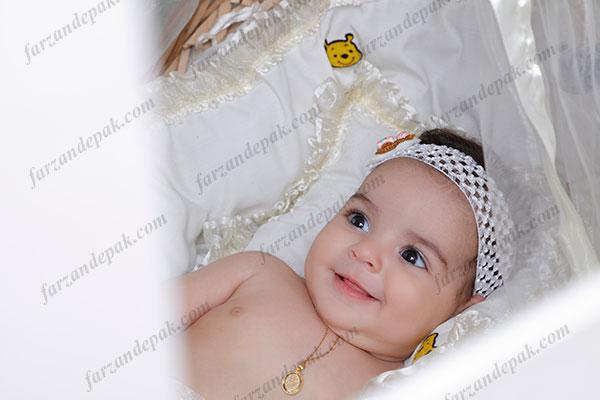 گالری عکس نوزاد دختر تا شش ماه (سری چهارم)