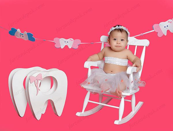 عکس دندونی نوزاد