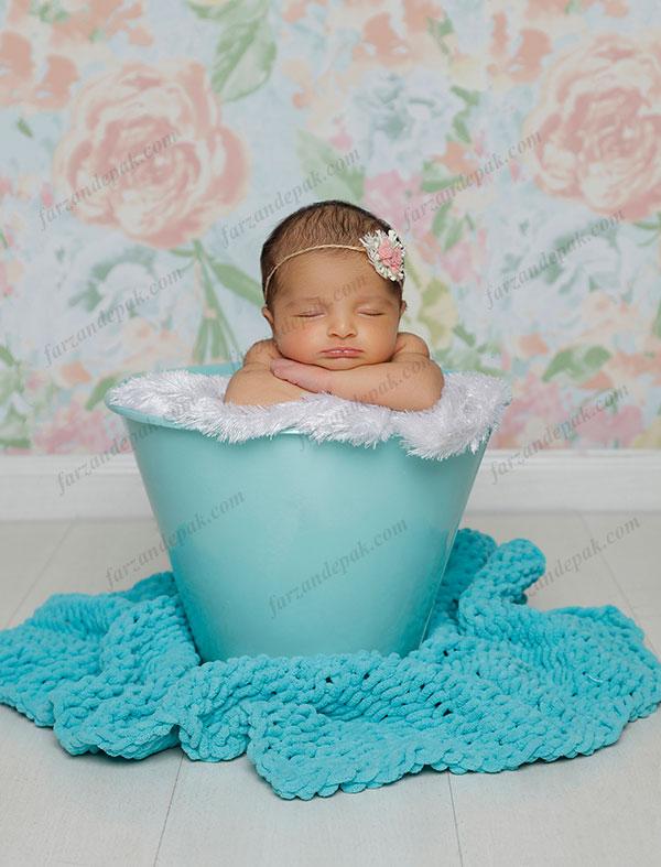 گالری عکس نوزاد دختر تا یک ماه (سری دوم)