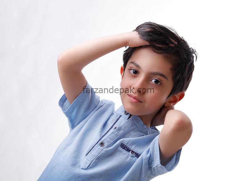 عکاسی پرتره کودک