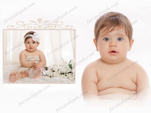 عکس دختر بچه