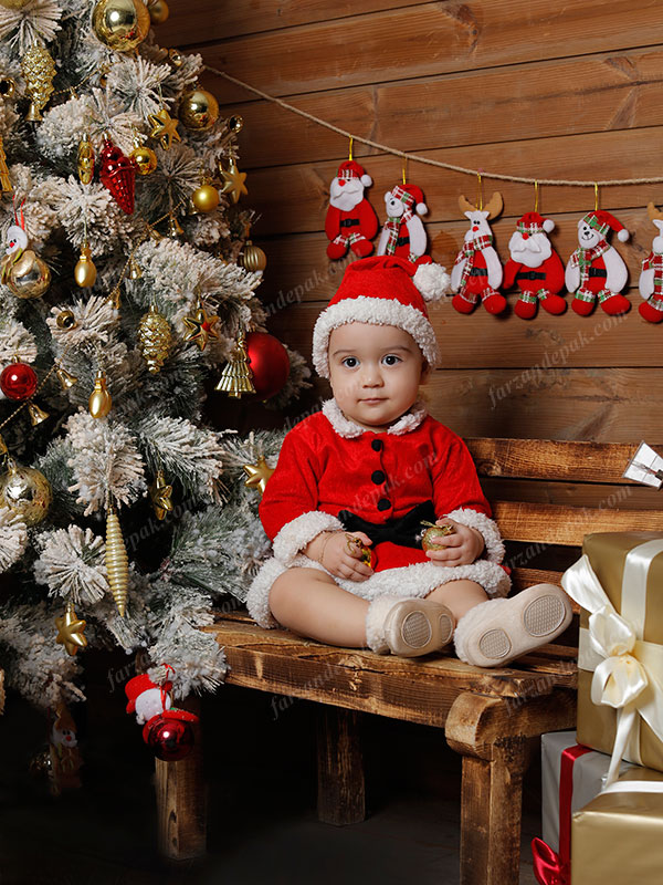 عکس کریسمس نوزاد