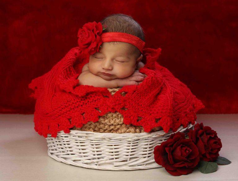 عکس نوزاد يک ماهه