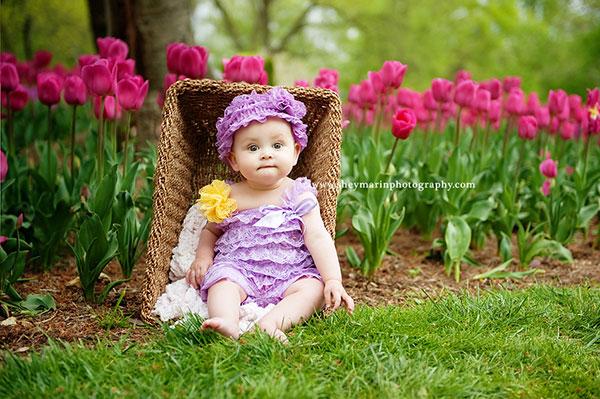 عکس نوروزی نوزاد